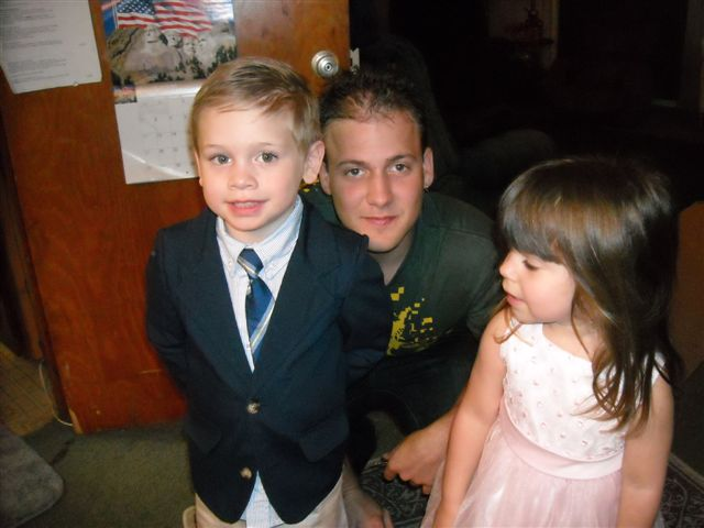 jared sean maddie easter 09